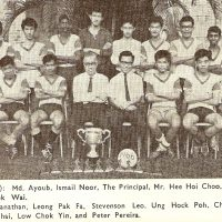 6. Football team, FAS Cup Winners, 1966